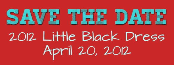 Save the Date - April 20, 2012